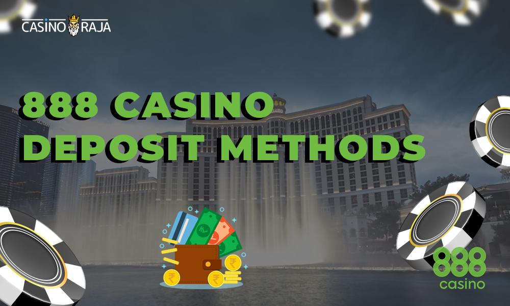 888 casino deposit methods