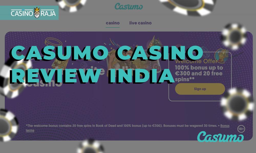 Casumo casino review India