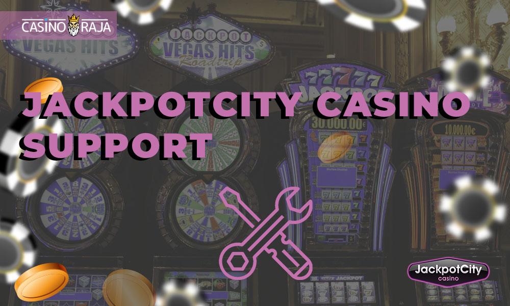 JackpotCity Casino support