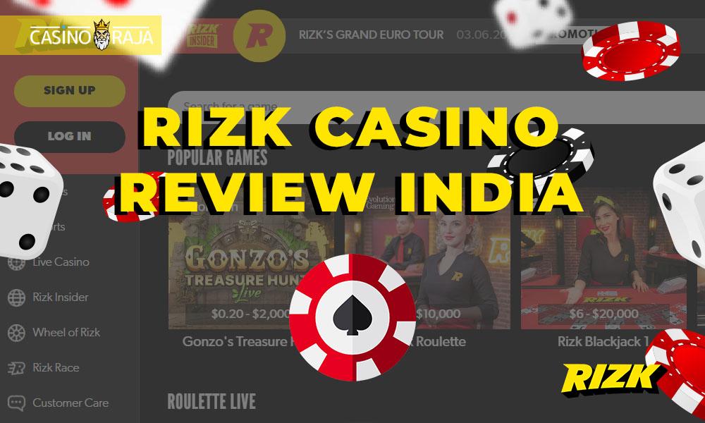 Rizk Casino review India