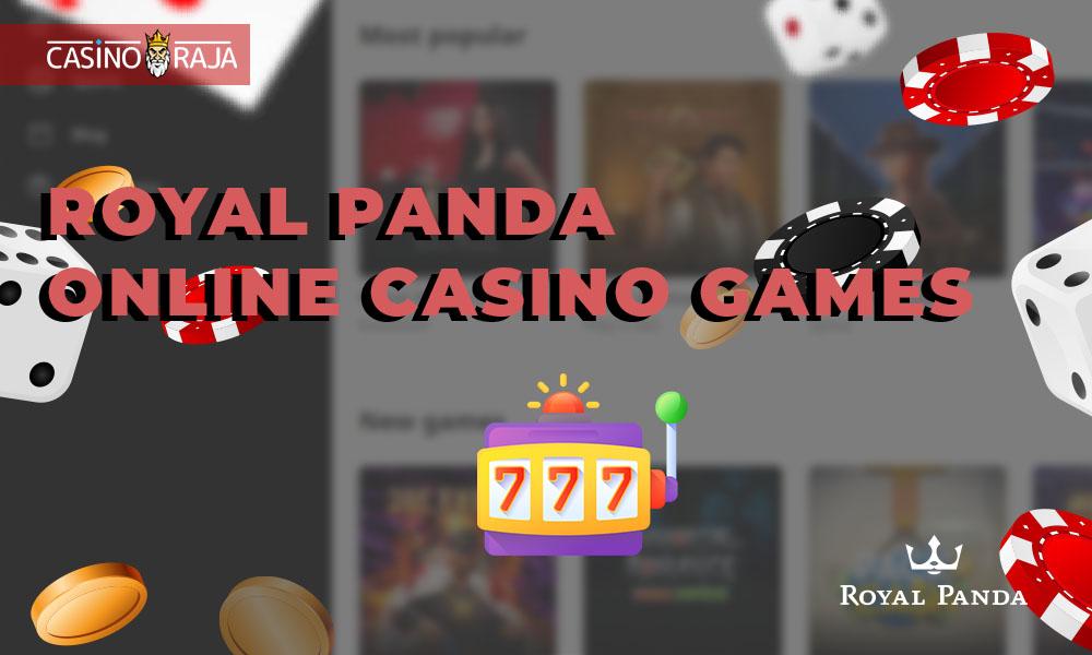 Royal Panda Online Casino Games