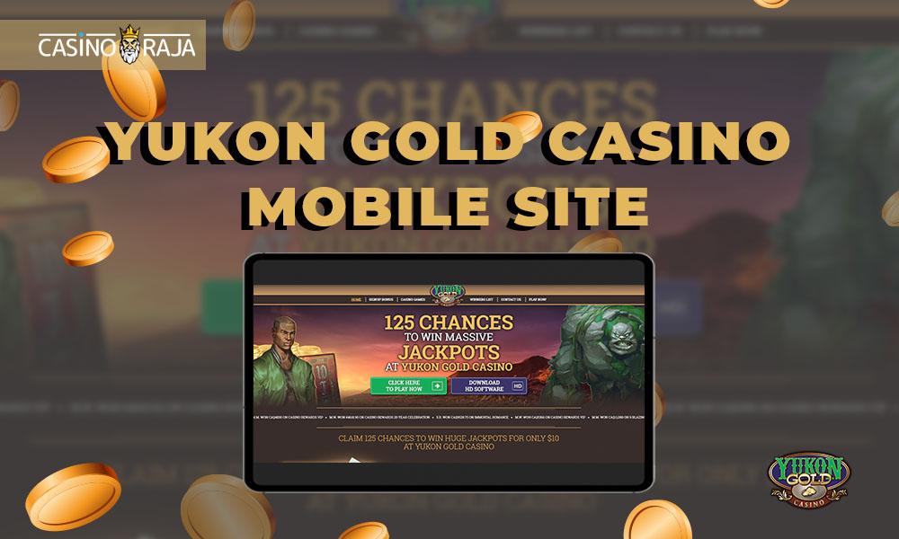 Yukon Gold Casino mobile site